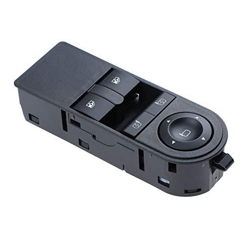 JTSGHRZ Interruptor de Ventana eléctrica Botón de Interruptor de Control de Ventana eléctrica, para Opel Astra H 2005-2010 Zafira B 2005-2015 13228879