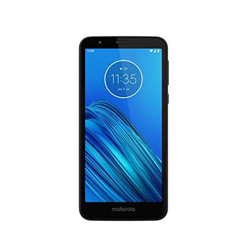 Motorola Moto E6 Smartphone with 16GB Memory, Unlocked Cellular - Starry Black