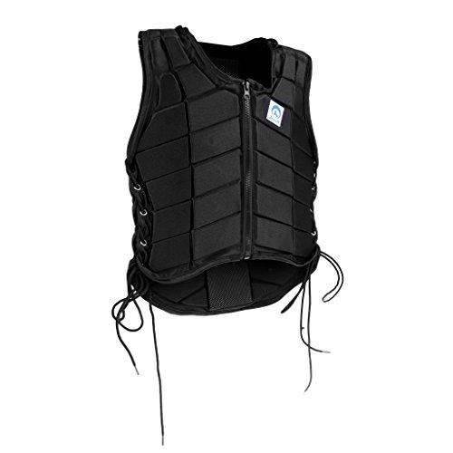 sharprepublic Chaleco de Seguridad para Montar a Caballo Chaleco Protector de Cuerpo Ecuestre Niños Hombres Mujeres - Mujeres S