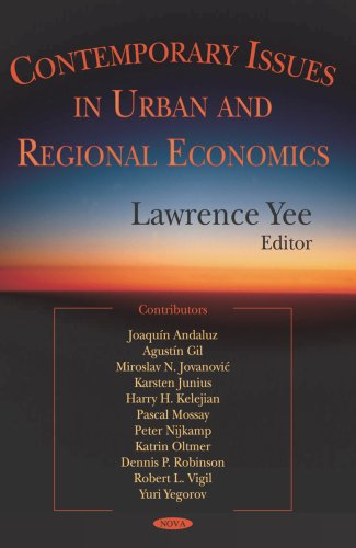 Contemporary Issues In Urban And Regional Economics