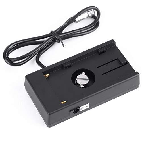 con uscita 12V Alimentatore per telecamera Batteria Scheda di instabilità Plastica + metallo, per batteria Sony NP-F970 F960 F770