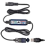 Tecmate Optimate USB O-108v2, Smart in-line 3300mA USB Charger, with Standby Mode & Vehicle Battery Monitor.