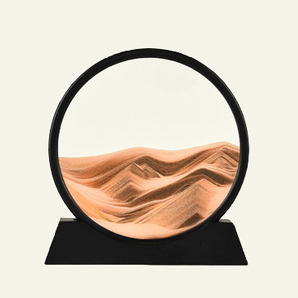 3D Dynamic Sand Ranking TOP13 Art Liquid Free Shipping New Picture Moving Round Motion