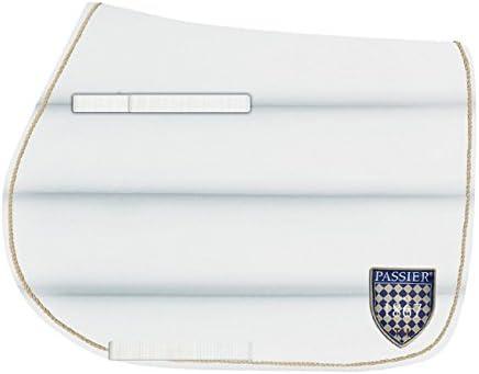 Passier Springen//Vielseitigkeit Schabracke mit Wappen in wei/ß oder navy