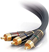 C2G/Cables to Go 45446 SonicWave RCA Component Video Cable (6 Feet)