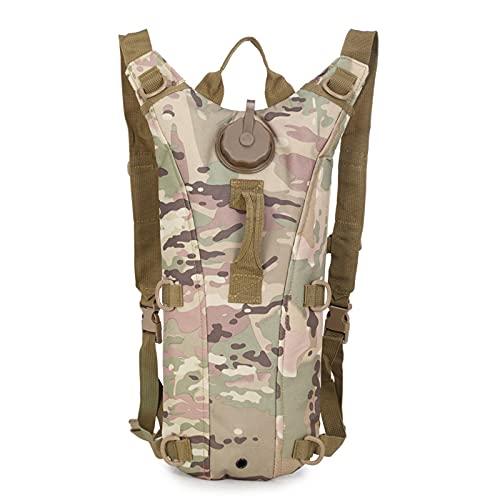Escursionismo Spalla Zaino Impermeabile Luce Camouflage Packable Casual Daypack Per Viaggi Campeggio Outdoor, Colore: g., L
