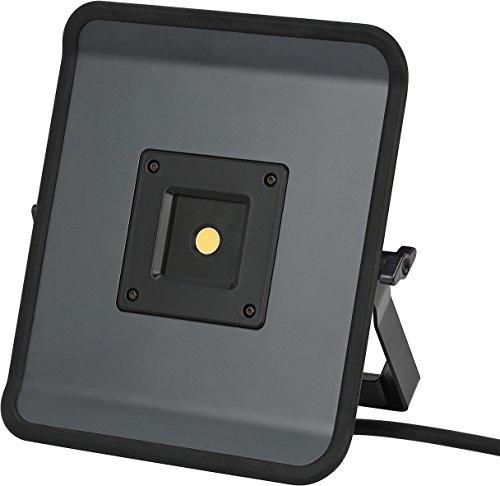 Preisvergleich Produktbild Brennenstuhl Compact LED-Leuchte / LED Strahler mit 50W Leistung und 5m Kabel (Baustrahler für außen und innen,  ideal als Arbeitsleuchte) Farbe: grau