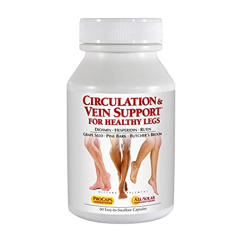 Andrew Lessman Circulation Vein Support for Healthy Legs 60 Capsules...