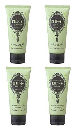 【まとめ買い】ロゼット 洗顔パスタ 海泥スムース 120g×4個