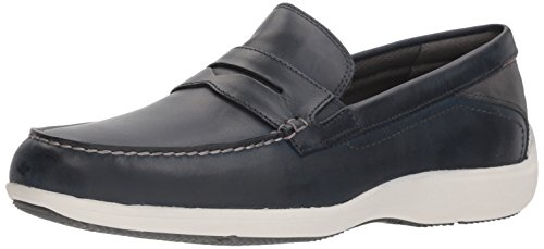 Rockport Men's Aiden Penny Driving Style Loafer,New Dress Blues,8.5 M US