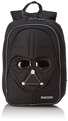 Disney Star Wars Ultimate S+ Junior Mochila Infantil, 10 litros, Color Negro