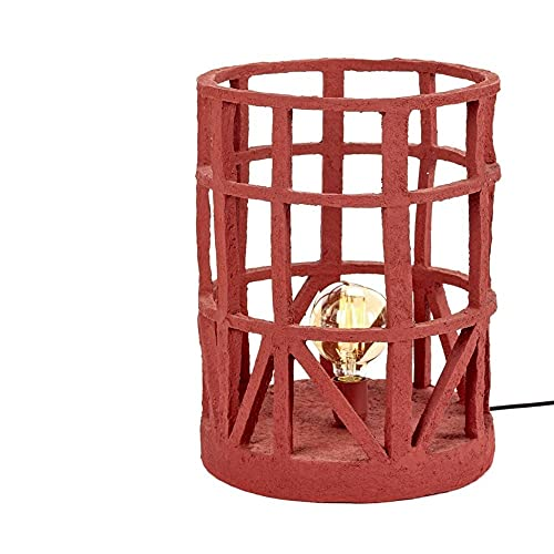 Set 1 Serax Earth Standing Lamp L - Lámpara de Pie Grande Roja