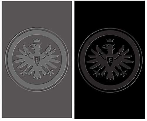 Eintracht Frankfurt Gästetücher 2er-Set, 100% Baumwolle 30x50cm