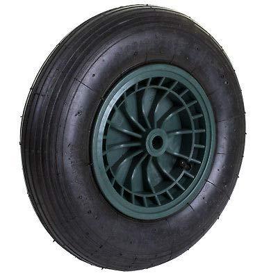 Generic Reifen, aufblasbar, Pneumatisch, eumatisch, 35,6 cm (14 Zoll) Schubkarrenrad, olley Bar mit Rad, Schubkarre