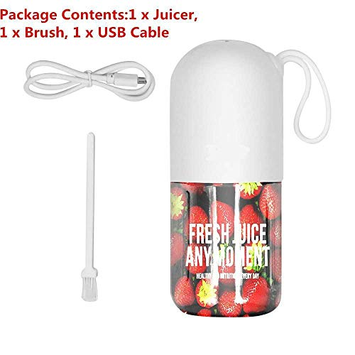 300ml USB Opladen Elektrische Juicer Blender Knijper Automatische Groente Fruit Citrus Oranje Sap Maker Machine
