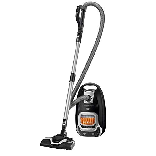 Rowenta - ro7490ea - Aspirateur traineau 66db noir silence force allergy +
