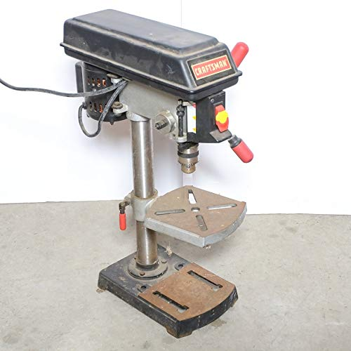 Best Price Craftsman 9 Inch Drill Press Model 137.219030 Induction Motor 120V 3100 RPM