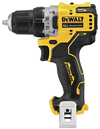 DEWALT DCD701B Xtreme 12V Max Brushless 3/8 in. Cordless Drill Driver (Tool Only) (Renewed)