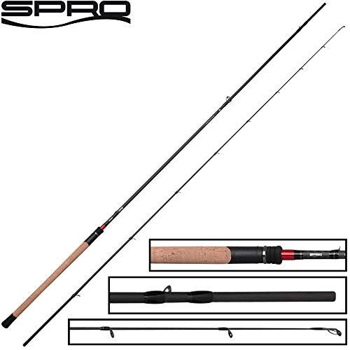Spro CRX Zander & Seatrout 2,85m 5-40g - Spinnrute zum Zanderangeln & Meerforellenangeln, Angelrute für Meerforellen, Forellenrute