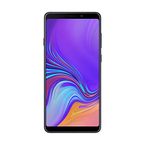"Samsung Galaxy A9, Smartphone (4G, Octa-Core, Ram de 6 GB, Memoria de 128 GB, 4 Cámaras de 24+5+10+8 MP), Bluetooth, Android, 6.3"", Negro"