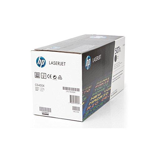 HP Original CE400X / 507X, für Laserjet Pro 500 Color MFP M 570 DN Premium Drucker-Kartusche, Schwarz, 11000 Seiten