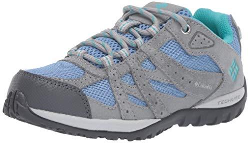 Columbia Fille Chaussures de Randonnée, CHILDRENS REDMOND, Taille 25, Bleu (Cool Wave, Geyser)