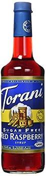 Torani Sugar Free Raspberry Syrup  750 mL /25.4 oz