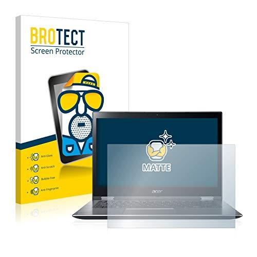 BROTECT Entspiegelungs-Schutzfolie kompatibel mit Acer Spin 3 SP314-51 Bildschirmschutz-Folie Matt, Anti-Reflex, Anti-Fingerprint