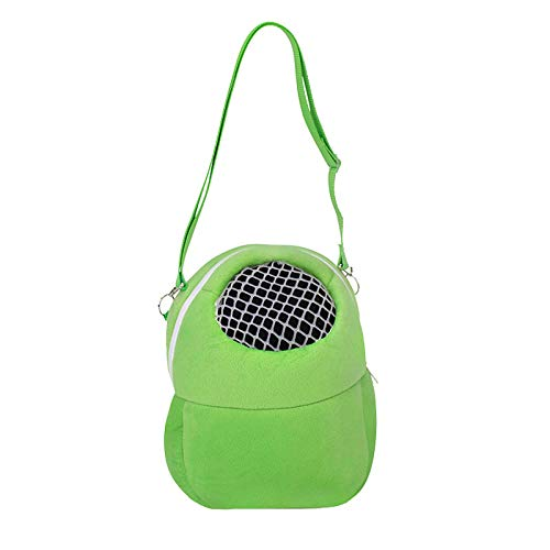 SHYSBV sporttas buiten, ademend, voor kleine huisdieren, S/M/L, 1 stuk, S, Celeste Y Blanco