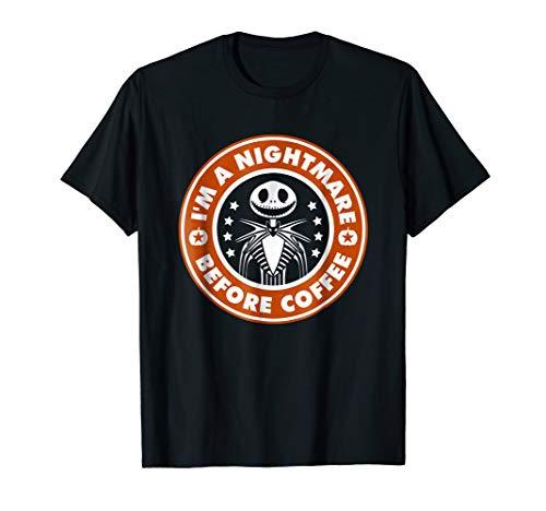 Im a nightmare before coffee shirt Funny coffee t-shirt gift