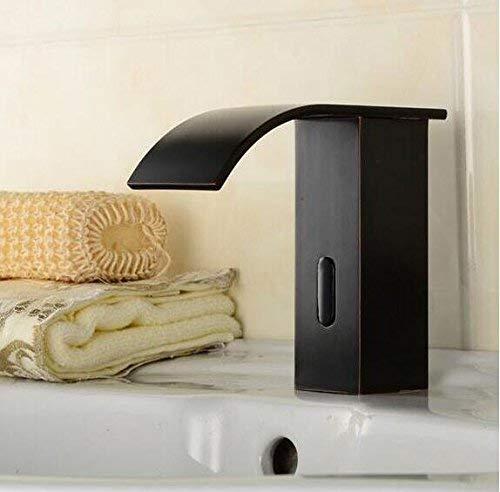 YNHNI Auto Touchless grifo sensor baño grifo lavabo grifo solo grifo frío baño sensor grifo sensor