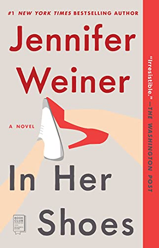 Top 10 best selling list for in her shoes book characters