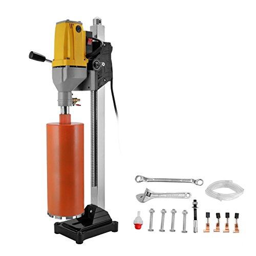 Cueffer 6 Pulgadas 160 mm Máquina de Perforación del Diamante Diamond Drill Machine para Cemento Armado Máquina Húmeda de Perforar con Soporte de Mesa Diamond Core Drilling Machine