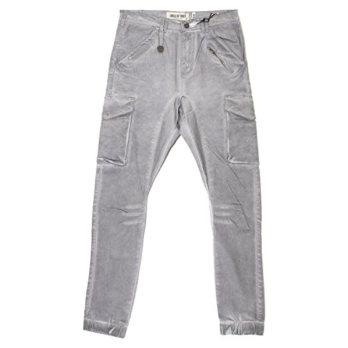 Circle of Trust, Colin, Herren Herren Jeans Hose Gabardine Stretch Oil Minimal Grey W 34 L 34 [17269]
