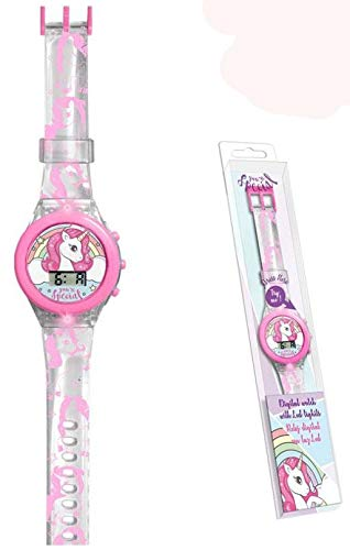 Kids Licensing Reloj Digital con luz de Unicornio (KL10103), Multicolor (1)