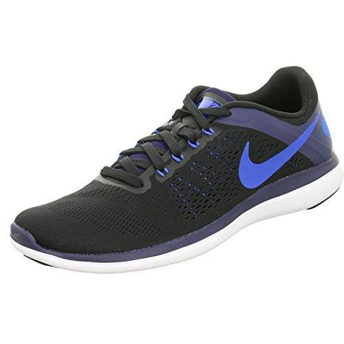 Nike Flex 2016 RN Chaussures de Running Compétition Homme, Noir (Negro/(Black/Soar/Binary Blue/White) 000), 40 EU