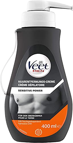 Veet Men - Crème Dépilatoire Homme - Epilation Peaux...