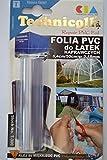 Rollo PVC para parches de reparación transparente 8,4 cm x 50 cm x 0,18 mm grueso notebookbits