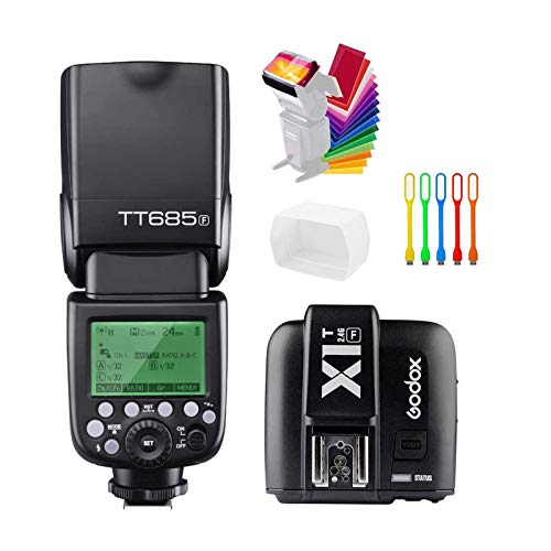 Godox TT685F TTL 2.4G GN60 High-Speed Sync 1/8000S Camera Flash Speedlite