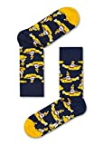 Happy Socks Calcetines Coloridos y Alegres Edicion Limitada The Beatles Collector Box Set 6-pack Algodón -Multicolor -36-40
