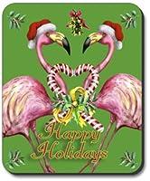 Flamingo Holiday–アートプレートブランドマウスパッド