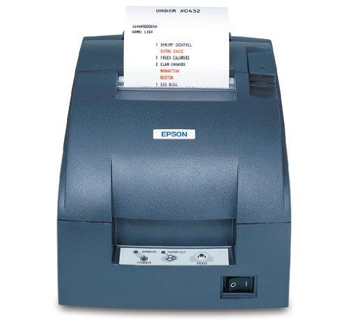 Epson TM-U220B (057A0): USB, PS, EDG - Impresora de Etiquetas (PS, EDG, Paralelo, 7,6 cm, 83 mm, 0.06-0.085 mm, Gris, 2,5 kg)