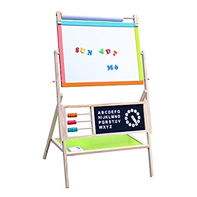 All-in-One Multifunction Wooden Kid's Art E...