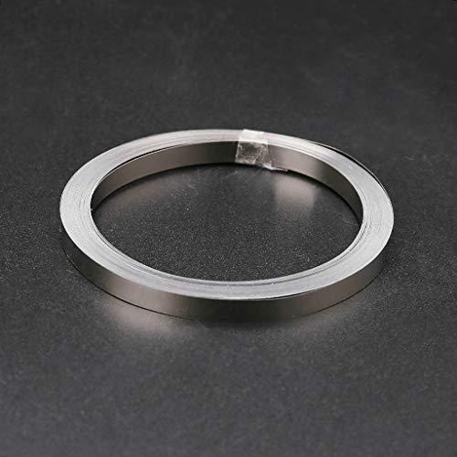 BIlinli 10 mt Nickel Band Für Li 18650 Batterie Punktschweißen Kompatibel Für Punktschweißgerät 0,1x5mm / 0,15x6mm Punktschweißgerät