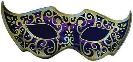 Purple Masquerade Mask Mardi Gras Standee Standup Photo Booth Prop Background Backdrop Party Decoration Decor Scene Setter Cardboard Cutout