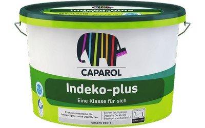 Caparol Indeko-plus Farbe weiß, Farbe 10 LTR