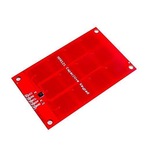 LKK-KK MPR121 Kapazitiver Berührungssensor Module Sensor Keystone Tastatur Cay