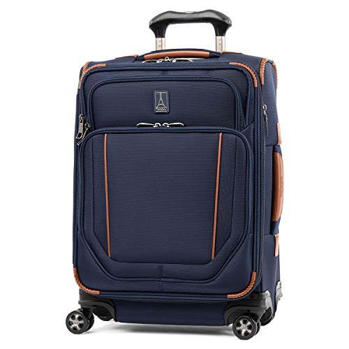 Travelpro Crew Versapack-Softside Expandable Spinner Wheel Luggage, Patriot Blue