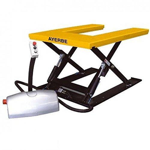 Ayerbe 0003356 Mesa hidráulica de accionamiento eléctrico con forma de'U', capacidad de carga de...