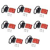 Shiwaki 8 Pair Batterieanschluss Stecker 50A 600V für Auto, Wohnmobil, Wohnwagen, Wohnmobil, Boot